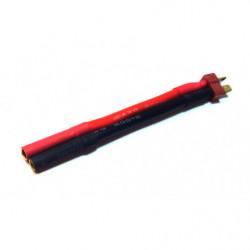 Переходник AGA POWER T-Plug Male - Bullet 4.0mm Female для аккумуляторов
