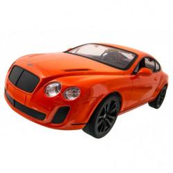 Машинка р/у 1:14 Meizhi лиценз. Bentley Coupe (оранжевый)