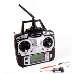 Аппаратура управления 6-канальная FlySky FS-T6 2.4GHz с приёмником R6B