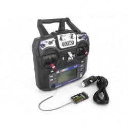 Аппаратура управления 6-канальная FlySky FS-I6 2.4GHz с приёмником IA6