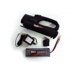 B7026S1 Estarter Combo Set For 1:10 Nitro Gas Car Estarter w/Drillplate, 7.2V...