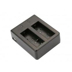 Зарядное устройство SJCam на два аккумулятора для камер SJ4000, SJ5000, M10