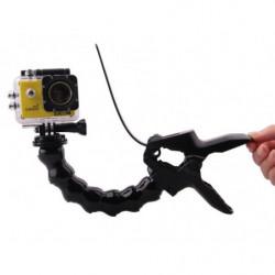 Крепление прищепка SJCam с гибким штативом для камер SJ4000, SJ5000, M10