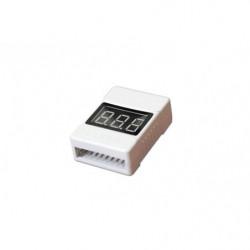 Тестер бортовой Tarot для Li-Pol батарей 1-8S со звуком (TL2693-02)