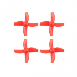 Пропеллеры для Eachine E010 комплект 4шт (красный)