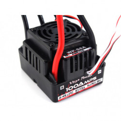 100A Brushless Electric Speed Controller for 1/8XB/SC/XT/MT 100A water splash...