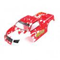 Корка кузов Himoto Mastadon. 1:18 Truck Body Red