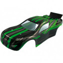 Корка кузов Himoto Katana 31505 1:10 Truggy Body Green 1p