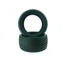 Резина 1:18 Tires for Buggy and Short Course Truck 2P