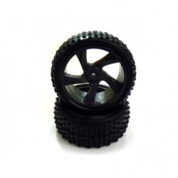 Колеса 1:18, 28659 Tire and Rim for Buggy and Short Course Truck 2P
