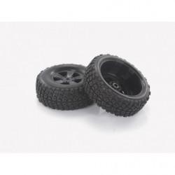 28669 1:18 Desert Buggy Tires & Rims 2P
