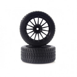 Tires and Rims for On Road (28688+28689) 2P