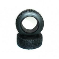 (8E133) Tire w/Foam Insert For Short Course Truck 2P