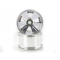 Chrome Rims For Monster Truck 2P