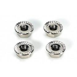 Team Magic 4mm Special Wheel Lock Nut 4p