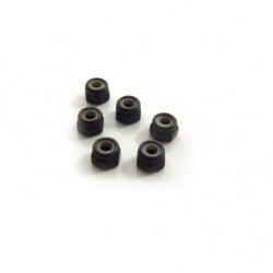 M3 Nylon Lock Nuts 8P