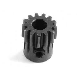 Пиньон HOBBYWING 13T M1 5mm из хромированной стали