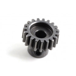 Пиньон HOBBYWING 19T 0.8M (32 pitch) 5mm из хромированной стали