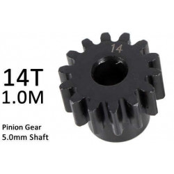 Team Magic M1.0 Pinion Gear for 5mm Shaft 14T
