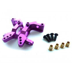 (02132) Purple Alum Front Hub Carrier 1SET