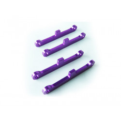F/R Purple Alum Susp Brace 1SET