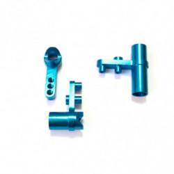 Blue Alum Steering Servo Saver Complete 1P