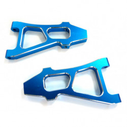 (08037) Blue Alum Front Lower Arm 2P