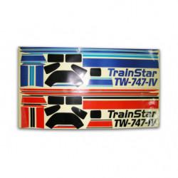 Комплект наклеек самолёта VolantexRC Trainstar 1400мм (V-7474-Dec)