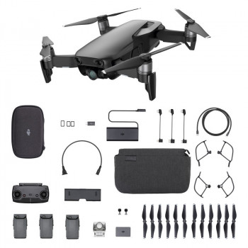 Квадрокоптер DJI Mavic Air Fly More Combo Черный