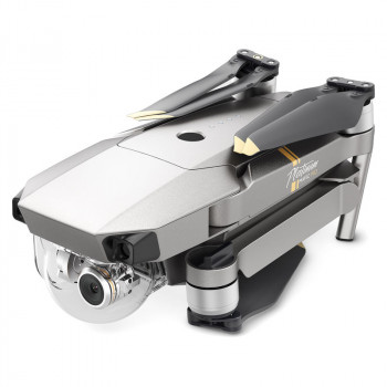 Квадрокоптер DJI Mavic Pro Platinum Fly More Combo