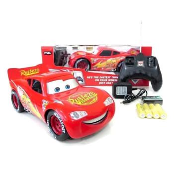 Молния Маквин (Lightning McQueen) на пульте, большой 1:18 - Красный