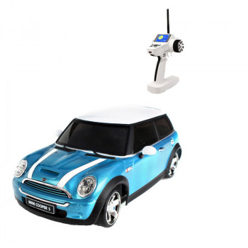 Автомодель 1:28 Firelap IW04M Mini Cooper 4WD (синий)