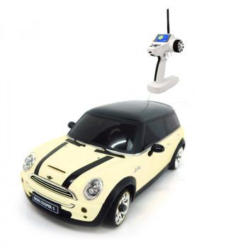Автомодель 1:28 Firelap IW04M Mini Cooper 4WD (белый)