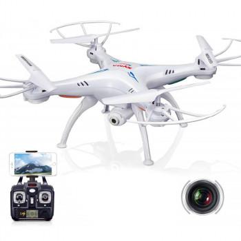 Квадрокоптер Syma X5SW с камерой WiFi (белый)