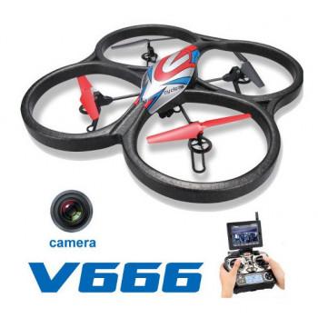 Квадрокоптер большой WL Toys V666 Cyclone с FPV системой 5.8ГГц