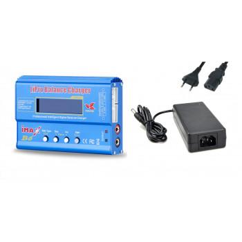 Зарядний пристрій iMAX B6 6A/60W + БП, копія
