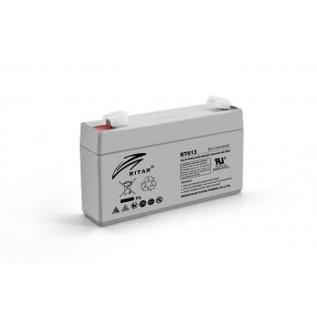 Аккумуляторная батарея AGM RITAR RT613, Gray Case, 6V 1.3Ah
