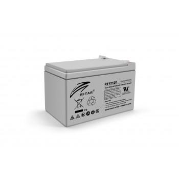 Аккумуляторная батарея AGM RITAR RT12120, Gray Case, 12V 12.0Ah
