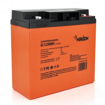 Аккумуляторная батарея MERLION GL1220M5 12 V 20 Ah