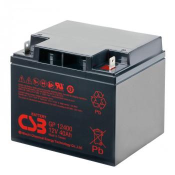 Аккумуляторная батарея CSB GP12400, 12V 40Ah