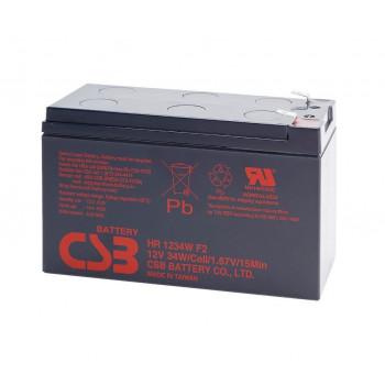 Аккумуляторная батарея CSB HR1234WF2, 12V 9Ah