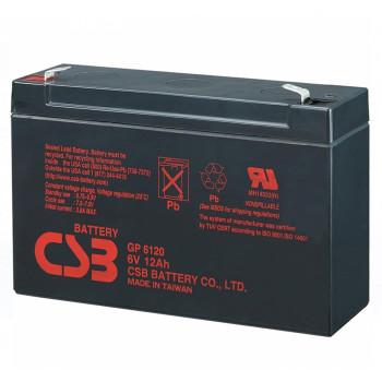 Аккумуляторная батарея CSB GP6120, 6V 12Ah