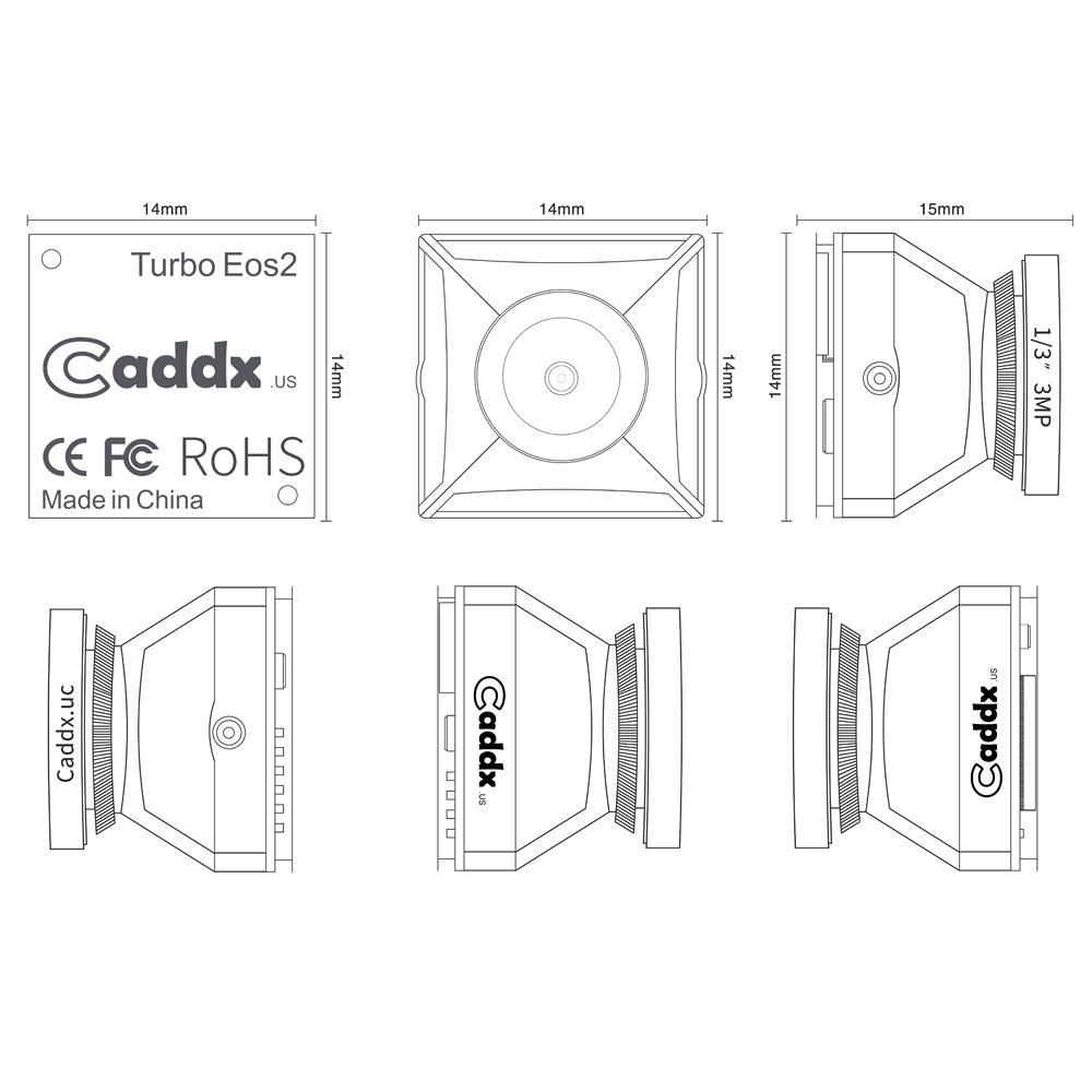 Caddx EOS2 Turbo