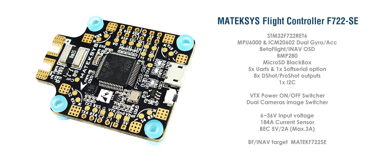 Matek F722-SE