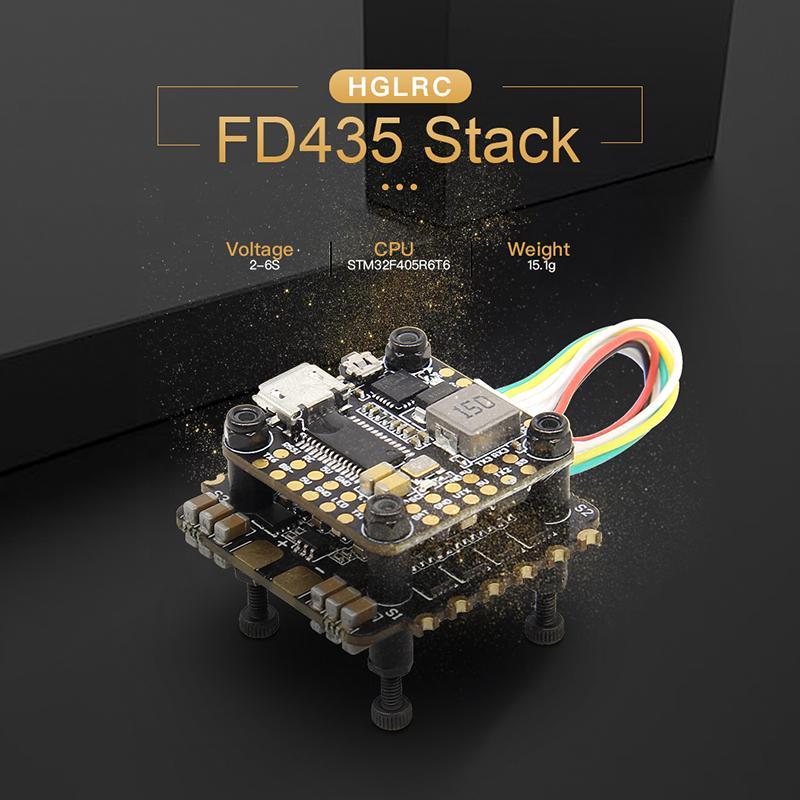 HGLRC FD435 Stack