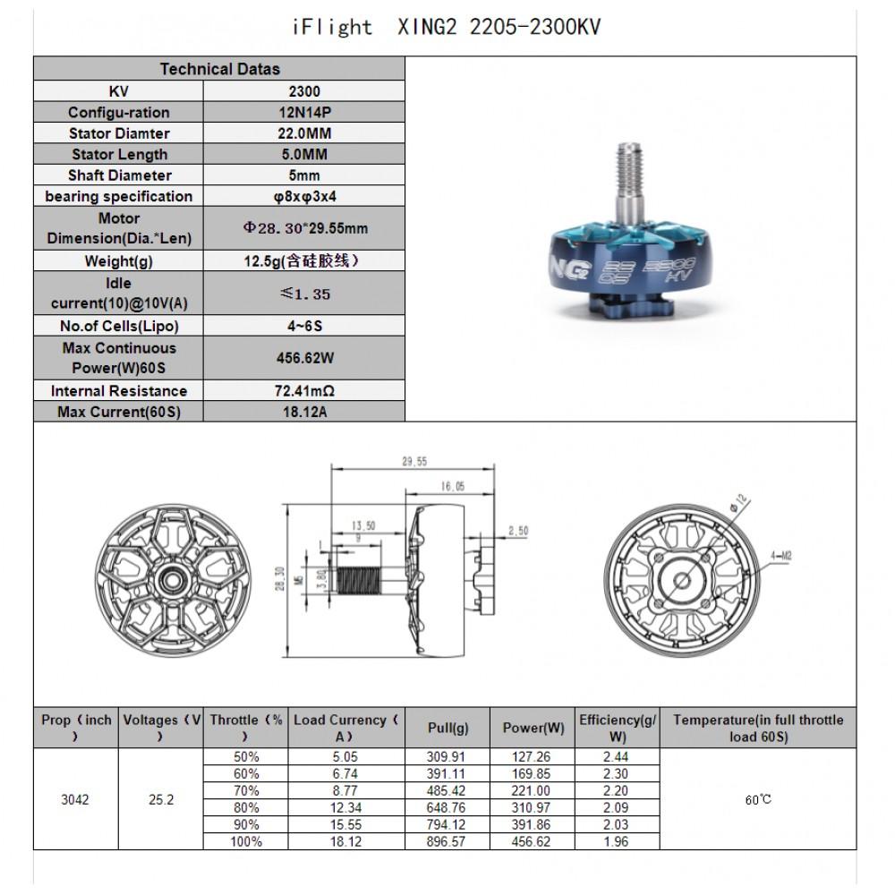 iFlight XING2 2205 2300KV