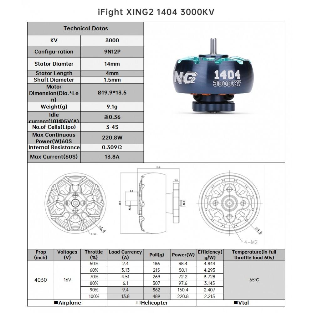 XING2 X1404 4600KV