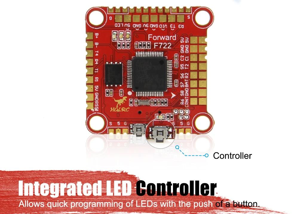 HGLRC Forward F722 LED