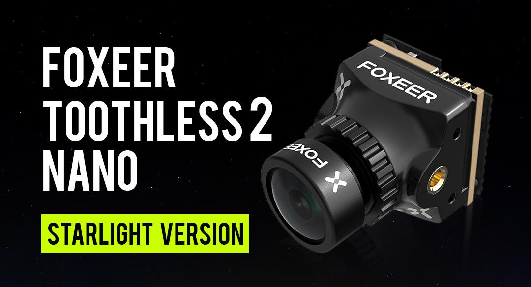 Foxeer Toothless 2 nano starlight