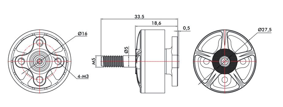 T-Motor F60 PRO III Motor